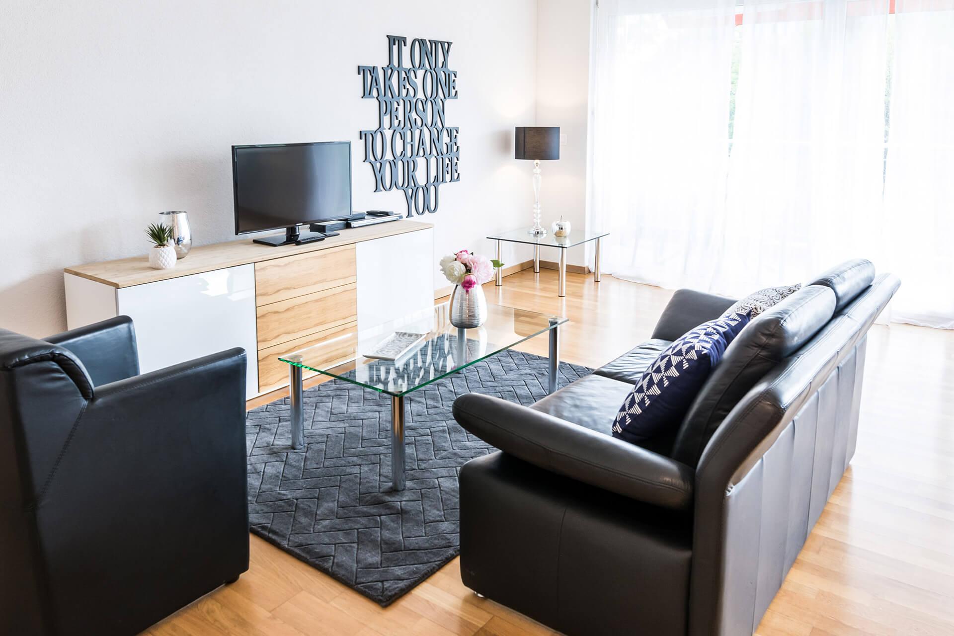 Grosszügige 2-Zimmer-Wohnung an zentraler Lage