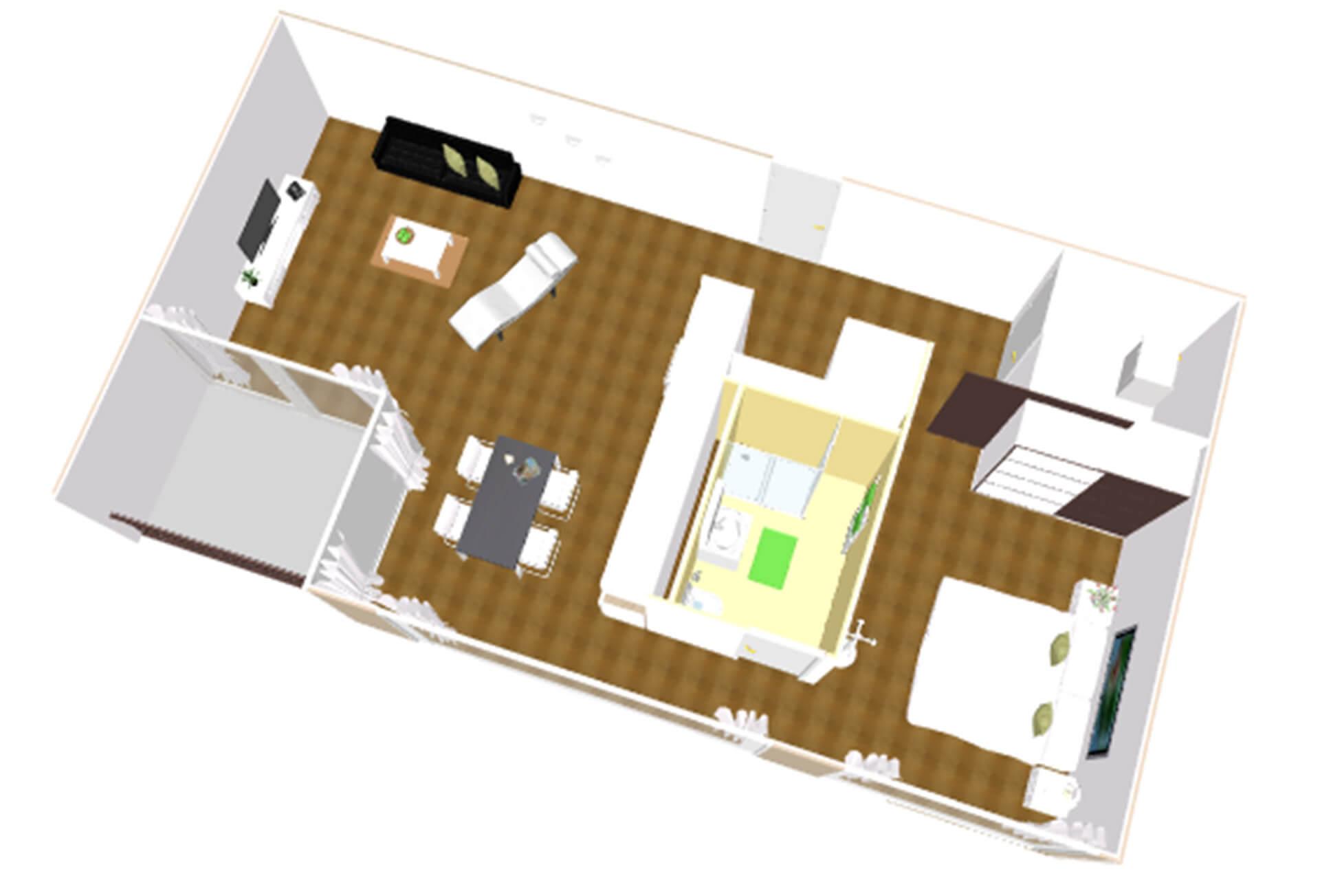 Moderne 2-Zimmer-Wohnung in bester Lage
