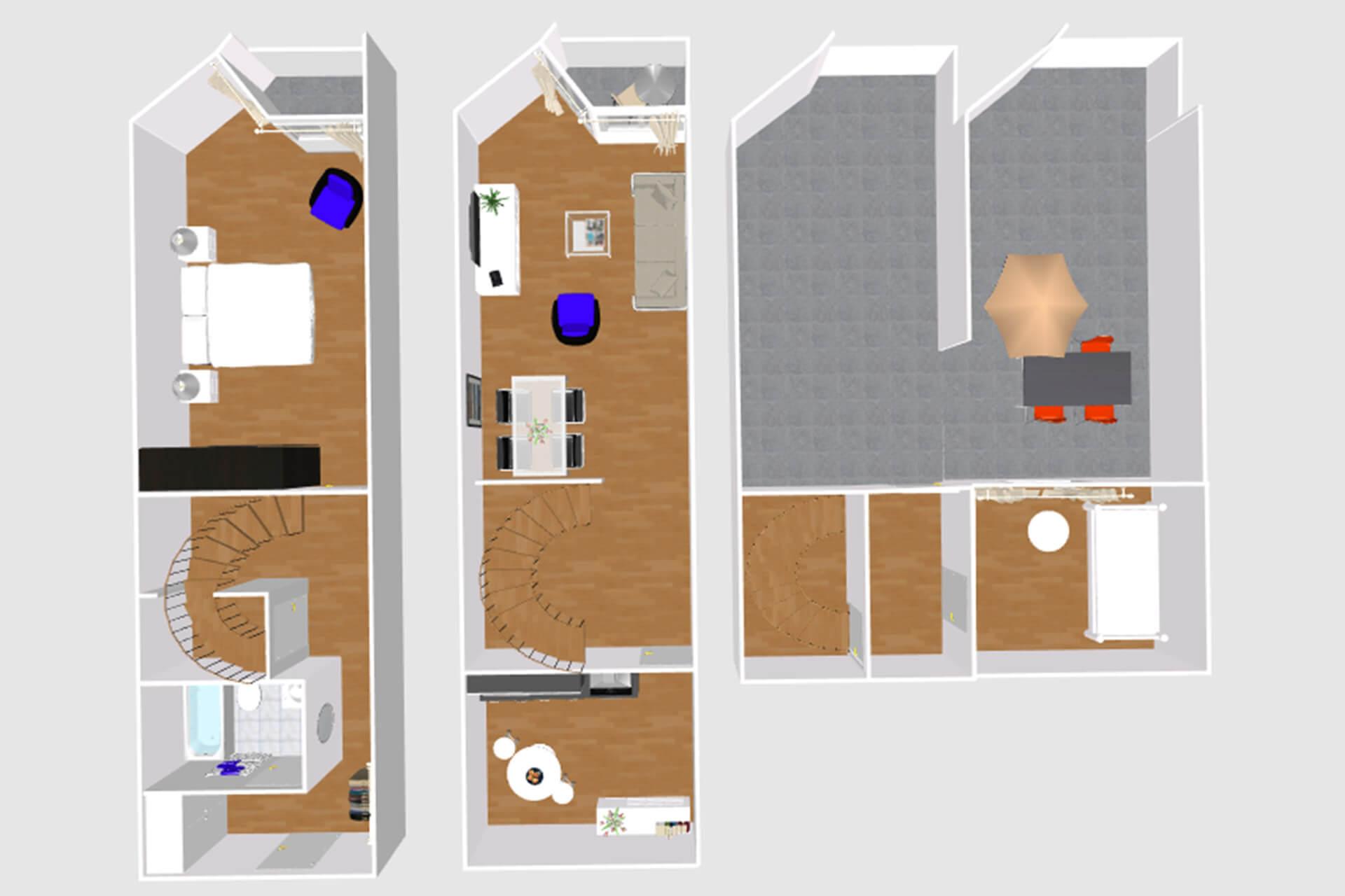 Gemütliche 3-Zimmer-Wohnung